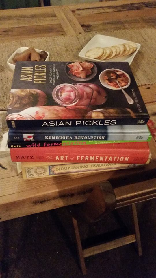 A few of my favorite fermenting books