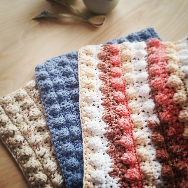bobbel dishcloth